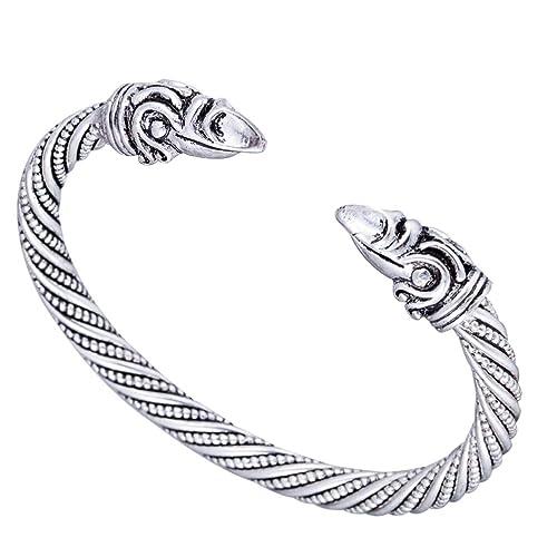 08fb39574d95 Pulsera vikinga para hombre, joyas paganas color oro, pulseras y brazaletes  para hombres y mujeres, joyería y accesorios
