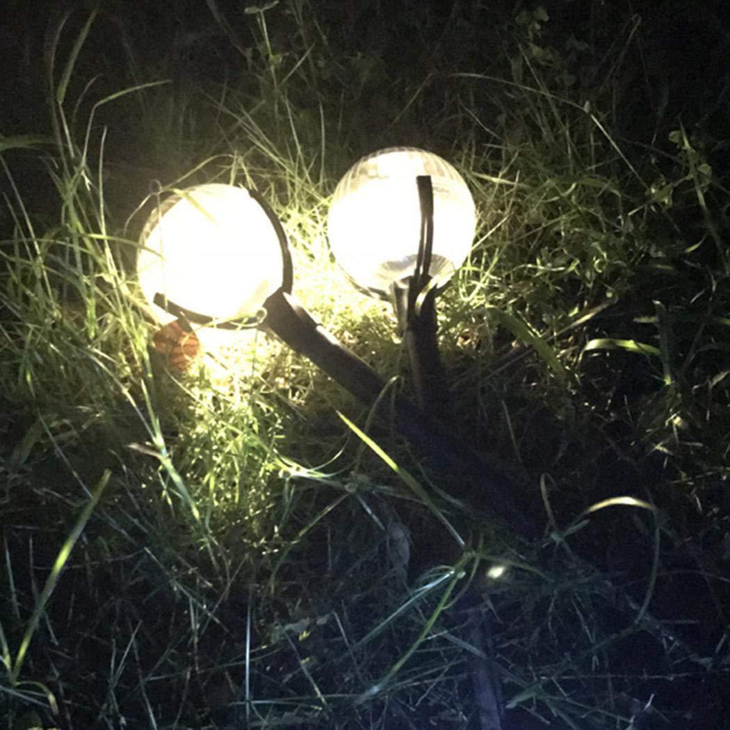 DREAMVAN Portable Waterproof Solar Lawn LED Light Ground Light Garden Light In-Ground Lights