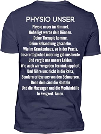 Physio Unser - Camiseta para hombre: Amazon.es: Ropa y accesorios