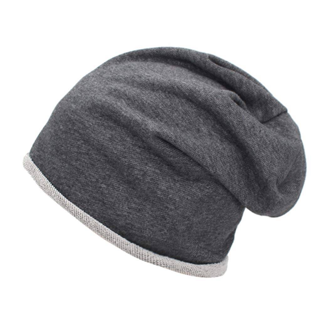 Mens Knitted Skull Cap Winter Beanie Wool Hat Baggy Elasticity Slouchy Caps Perfect for Outdoor Activities