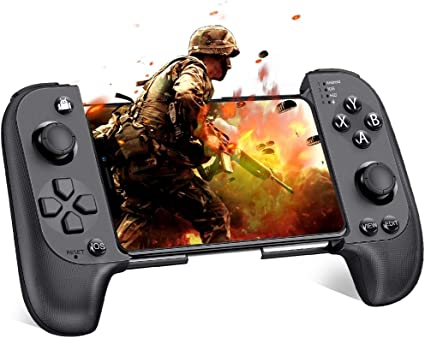 Amazon.com: Mobile Controller, BEBONCOOl Mobile Game Controller for PUBG, Android Game Controller for Android/iOS/iPhone, Wireless Remote Controller Gamepad, Mobile Gaming Controller Supports Mobile Key Mapping
