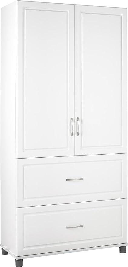 Amazon Com Ameriwood Home Systembuild Kendall 36 2 Door 2 Drawer