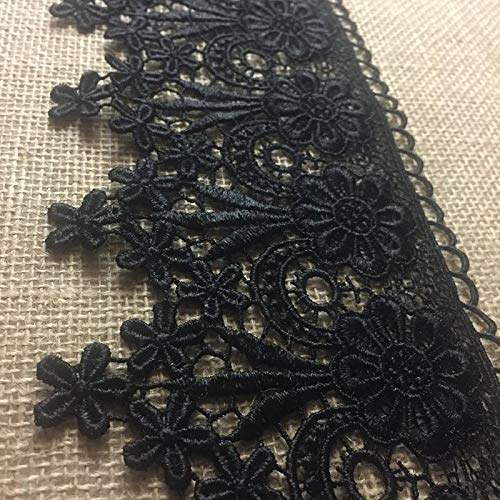 - Trim Lace Floral Geometric Venise by the Yard, 4.75