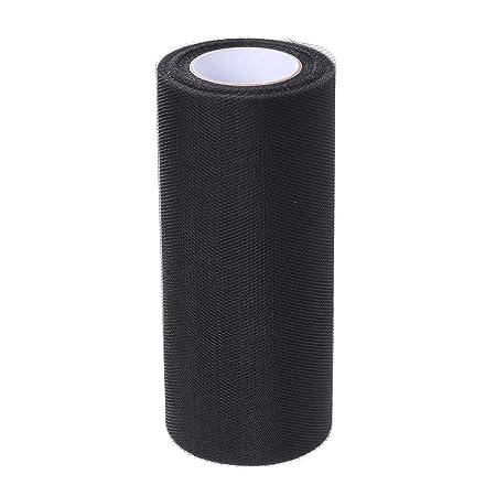 Rollo de tul de 15 cm x 25 yardas para boda, tutú, falda de tela ...