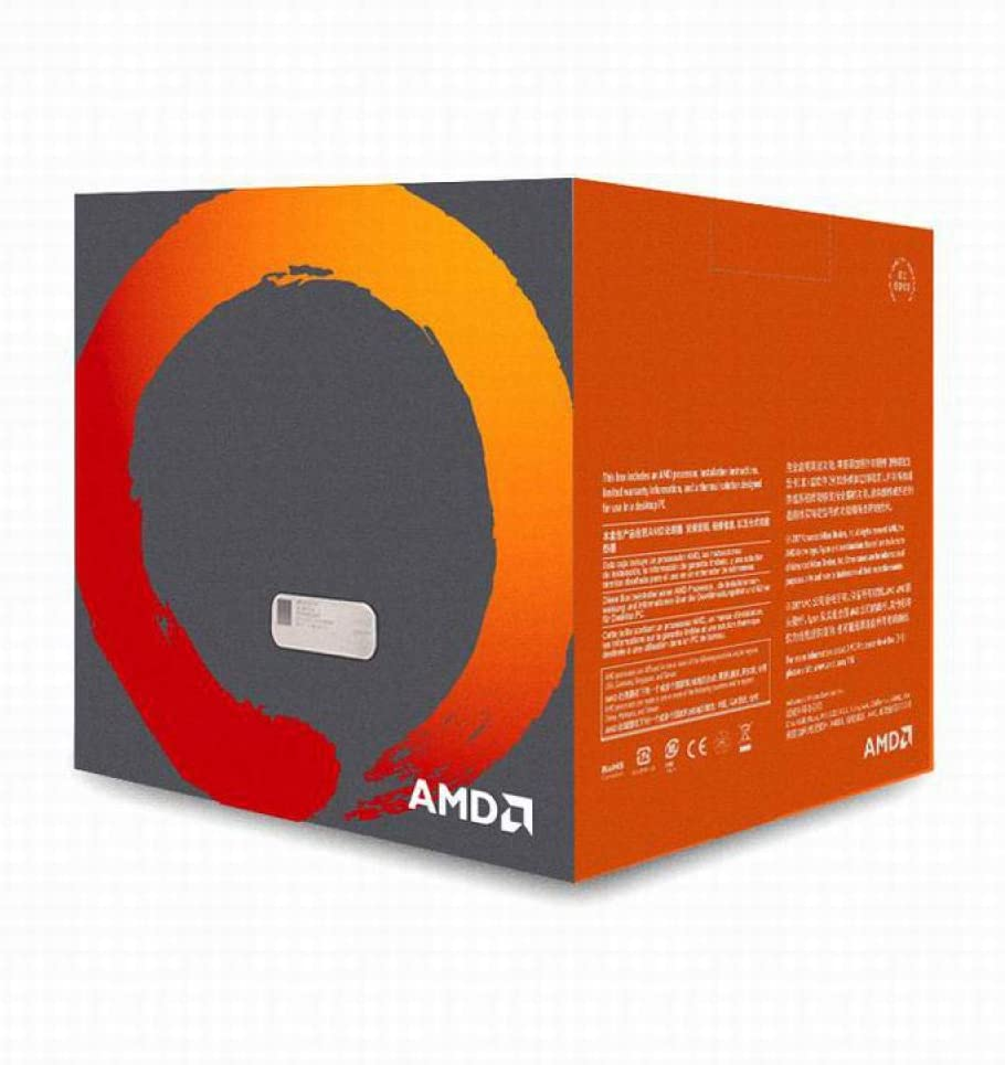 AMD Ryzen 7 2700 R7 2700 3.2 GHz Eight-Core Sinteen-Thread CPU Processor L3=16M 65W YD2700BBM88AF Socket AM4 New and with Fan