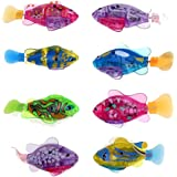 Yiilove Robofish Activated Battery Powered Robo Fish Toy Childen Kids Robotic Gift(4 piece)
