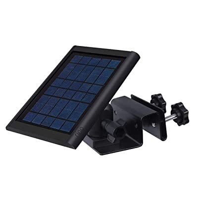 Gutter Mount for Ring Solar Panel - Outdoor Mounting bracket for Placing Solar Panel Further for Maximum Sunlight Exposure, Black: Home Improvement
