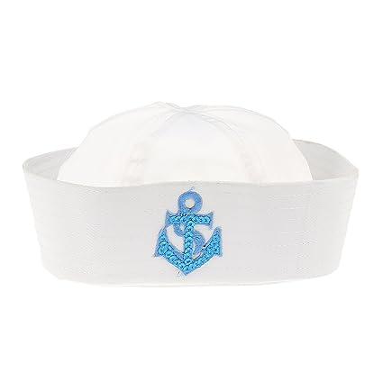 Sombrero De Capitán Casquillo De Marinero Marino Marina Triángulo Militar  Unisex Niños Rombo 54fefd50f6c