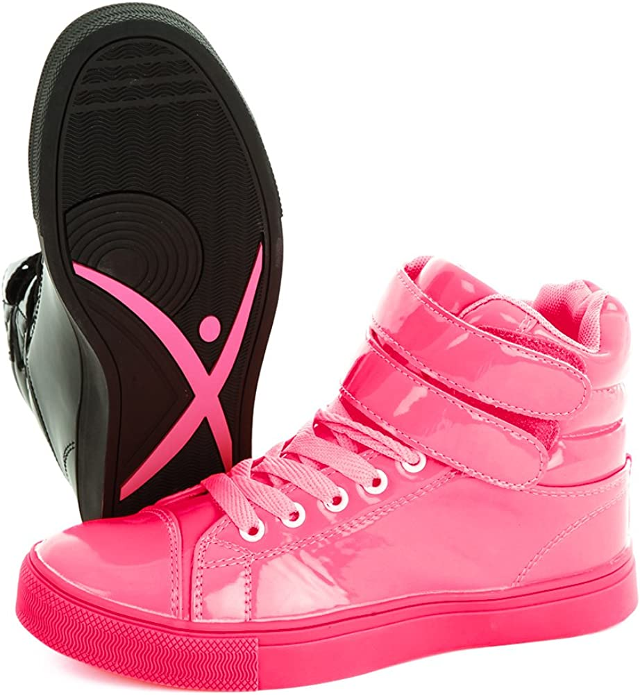 Retro Sneakers, Vintage Tennis Shoes Alexandra Collection High Top Dance Sneakers Shoes for Women $34.99 AT vintagedancer.com