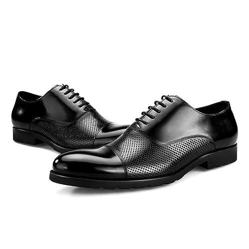 prodotti caldi vendita calda genuina nuova alta qualità JUNBOSI Scarpe Eleganti da Uomo estive - Scarpe da Lavoro di ...