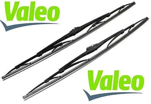 VALEO: Juego de 2 escobillas limpiaparabrisas para coche: Amazon.es: Coche y moto