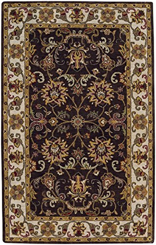 - Capel Rugs Gilded Rectangle Hand Tufted Rug, 10' x 14', Cocoa