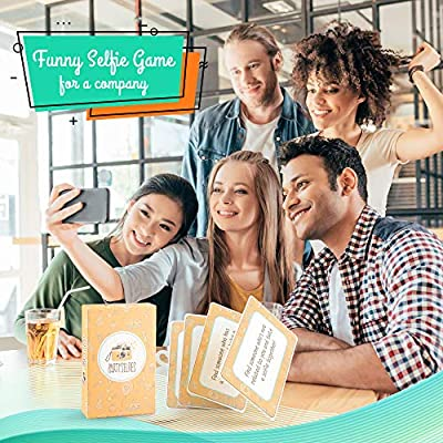 Partyselfies - Funny photo game with lots of different photo ideas for epic pictures that last a lifetime - great as a gift: Toys & Games