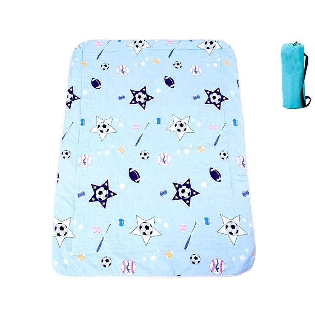ZKKWLL Picnic Blanket Children's Picnic Blanket Cartoon Picnic mat can be Machine wash Cute Carpet mat Portable Picnic mat Waterproof Oxford Cloth Picnic mat (Color : D) by ZKKWLL
