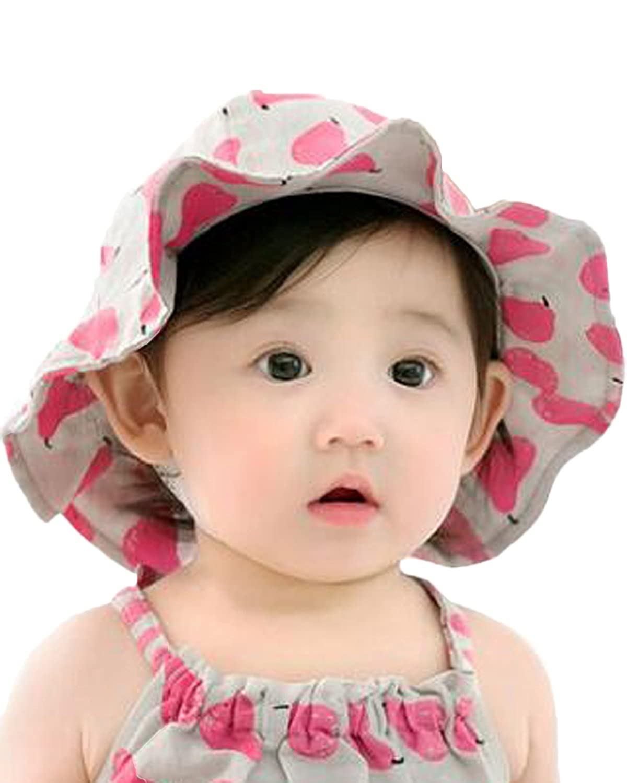 Kidsform HAT ベビーガールズ B073WVYGT1  ローズ 1-2 Years