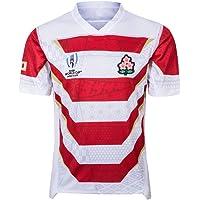 Equipo Japón, Rugby Jersey, Copa del Mundo, Edición Casa, Nueva Tela Bordado, Ropa Deportiva Swag
