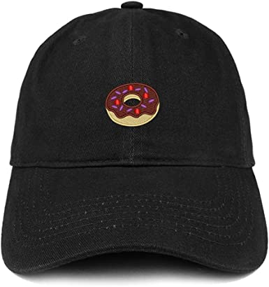 of Donut Embroidered Cap Style Baseball Curved Unstructured Men Women Hip Hop Dad Hat