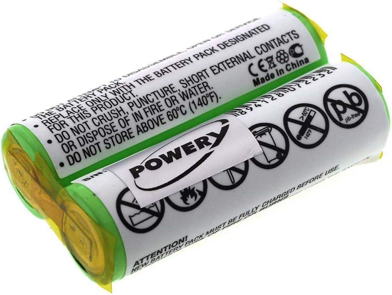 Powery Batería para Philips Philishave Cool Skin HQ6890: Amazon.es ...
