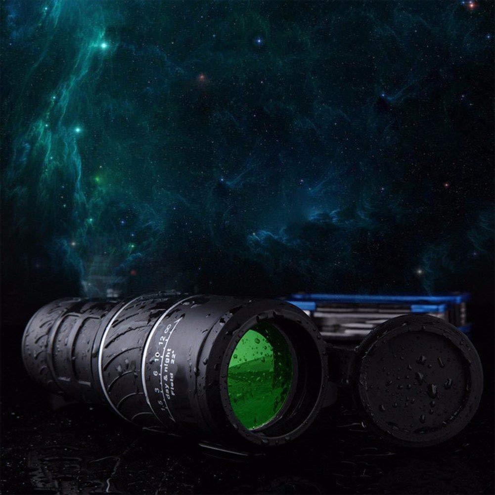 Camping ACHICOO 40X60 HD Telescopio monocular /óptico de visi/ón Diurna y Nocturna para Caza Senderismo Productos inform/áticos para Viajes//Trabajo