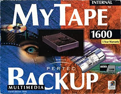 Pertec - MyTape Backup 1600 MBytes Multimedia Internal Travan Tape Drive by Pertec