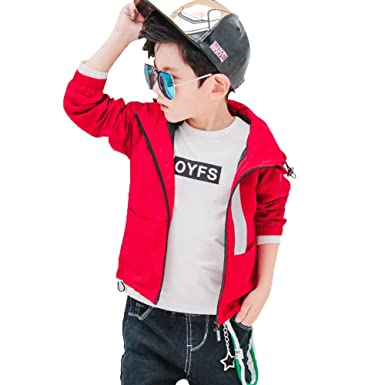 d2d442fff Child Boy Clothing Coat Outwear Autumn Casual Jacket Long Sleeve ...