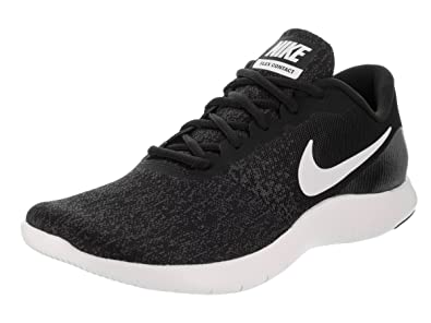 a4b53c2b155d6 Nike New Women's Flex Contact Running Shoe Black/White 8.5