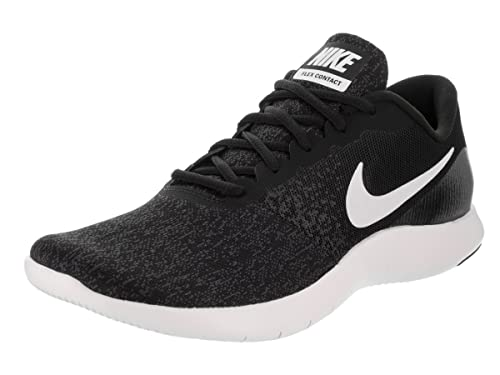 Nike Women s Flex Contact Black White Anthracite Running Shoe 6.5 Women US