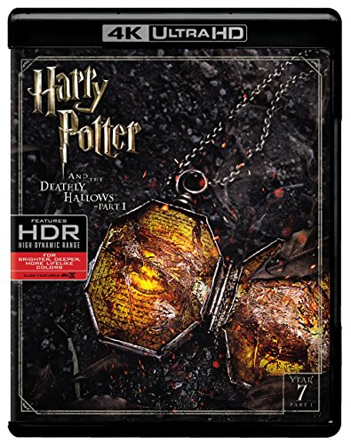 Harry Potter and the Deathly Hallows Part 1 (4K Ultra HD + Blu-ray) (Harry Potter Collection 8pk 4k Ultra Hd Digital)