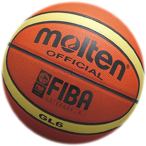 Basketball molten 【BGL】 Orange × Ivory (Official Size 6 (GL6)) by Molten