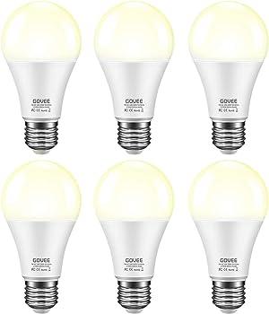6-Pack Govee 600-lumen Dusk to Dawn LED Bulbs