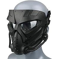 Wwman Máscara de Paintball CS Airsoft para Uso en Exteriores, máscara táctica de Cara Completa Resistente al Desgaste…