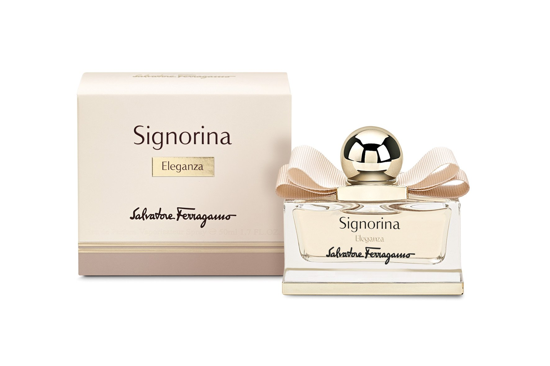 9025304f6aa40 Salvatore Ferragamo Signorina Eleganza Eau de Parfum Spray for Women, 3.4  Ounce