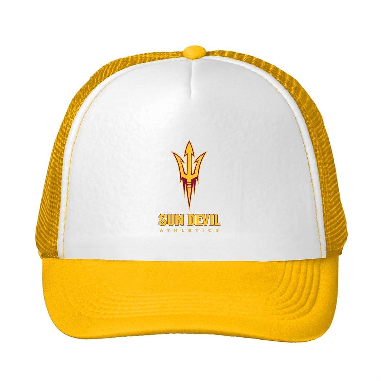 MUKIY Arizona State Sun Devils logo Design Trucker Hats Sun cap