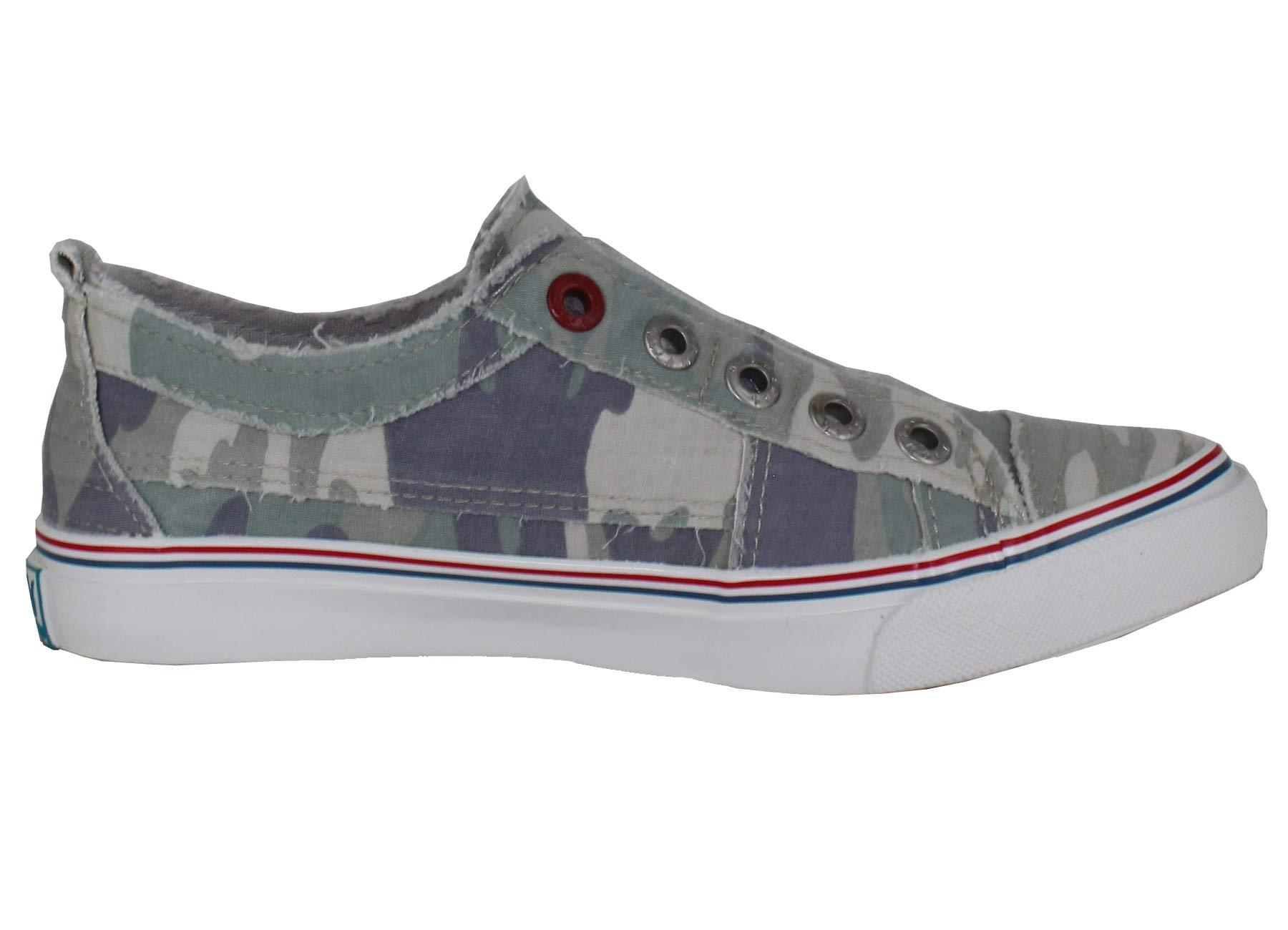 ca35ec7e778e8 Galleon - Blowfish Women's Play Fashion Sneaker (8.5 M US, Sage City Camo)