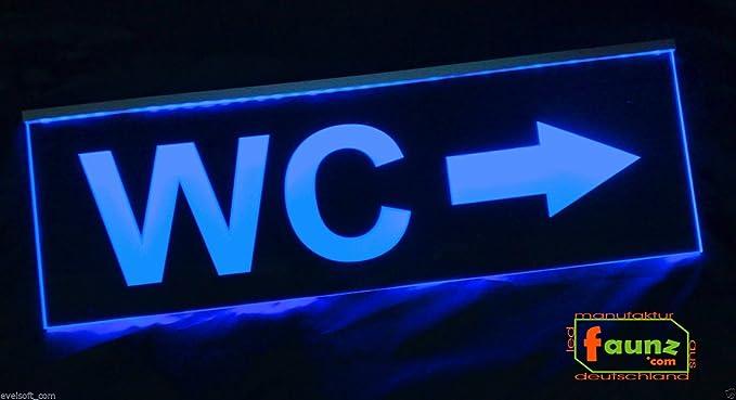 LED, diseño de cartel, Nota faunz Cartel Cartel WC Flecha ...