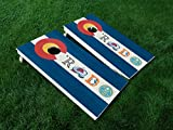 DISTRESSED Colorado 10 Colorado State FLAG CORNHOLE WRAP SET Vinyl Board DECAL Baggo Bag Toss Boards MADE IN the USA