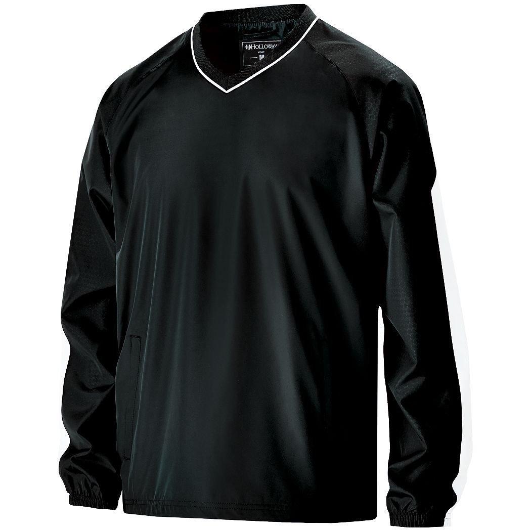 Men 's Bionic Windshirt Hollowayスポーツウェア B012KBHTP0 XXX-Large|ブラック/ホワイト ブラック/ホワイト XXX-Large
