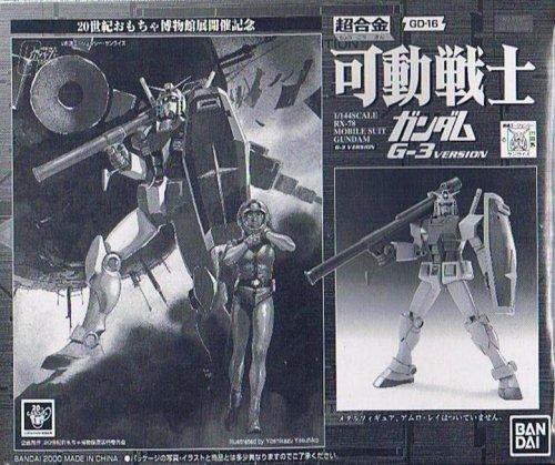 超合金 可動戦士ガンダム G-3 VERSION 20世紀おもちゃ博物館展開催記念