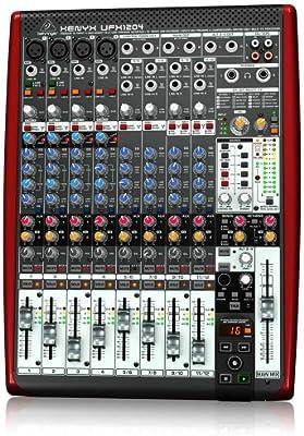Behringer UFX 1204 - Mesa de mezclas analógica, procesador de FX ...