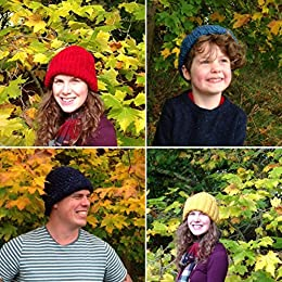 7 Easy Knitted Beanie & Knit Hat Patterns (Easy Weekend Project) by [Redwood, May]
