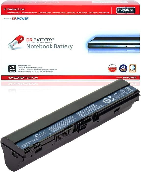 DR. BATTERY AL12B32 Battery Compatible with Acer Aspire One 725 756 V5-121 V5-131 Chromebook C710 AL12A31 AL12B31 AL12B72 AL12X32 KT.00403.004 AK.004BT.098 KT.00407.002[14.8V/2200mAh/33Wh]