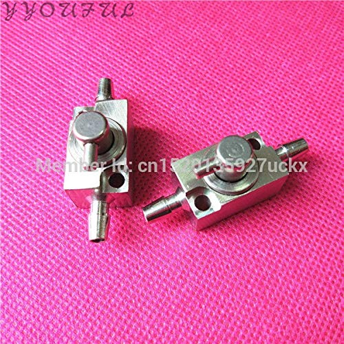 (Yoton Large Format Printer Allwin JHF Vista Leopard Yoton Flora printhead Cleaning Valve 3 Ways Aluminum Valve Clean Device 2pcs)