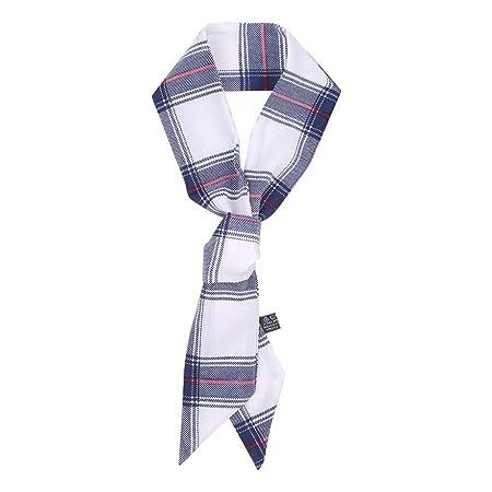 Factorys Pañuelo de Corbata para Mujer, Bufanda con Cuello de ...