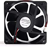 パソコン用CPU冷却ファン12038 120x120x38mm DC 12V 2ピン AFB1212SHE 交換用 3100RPM