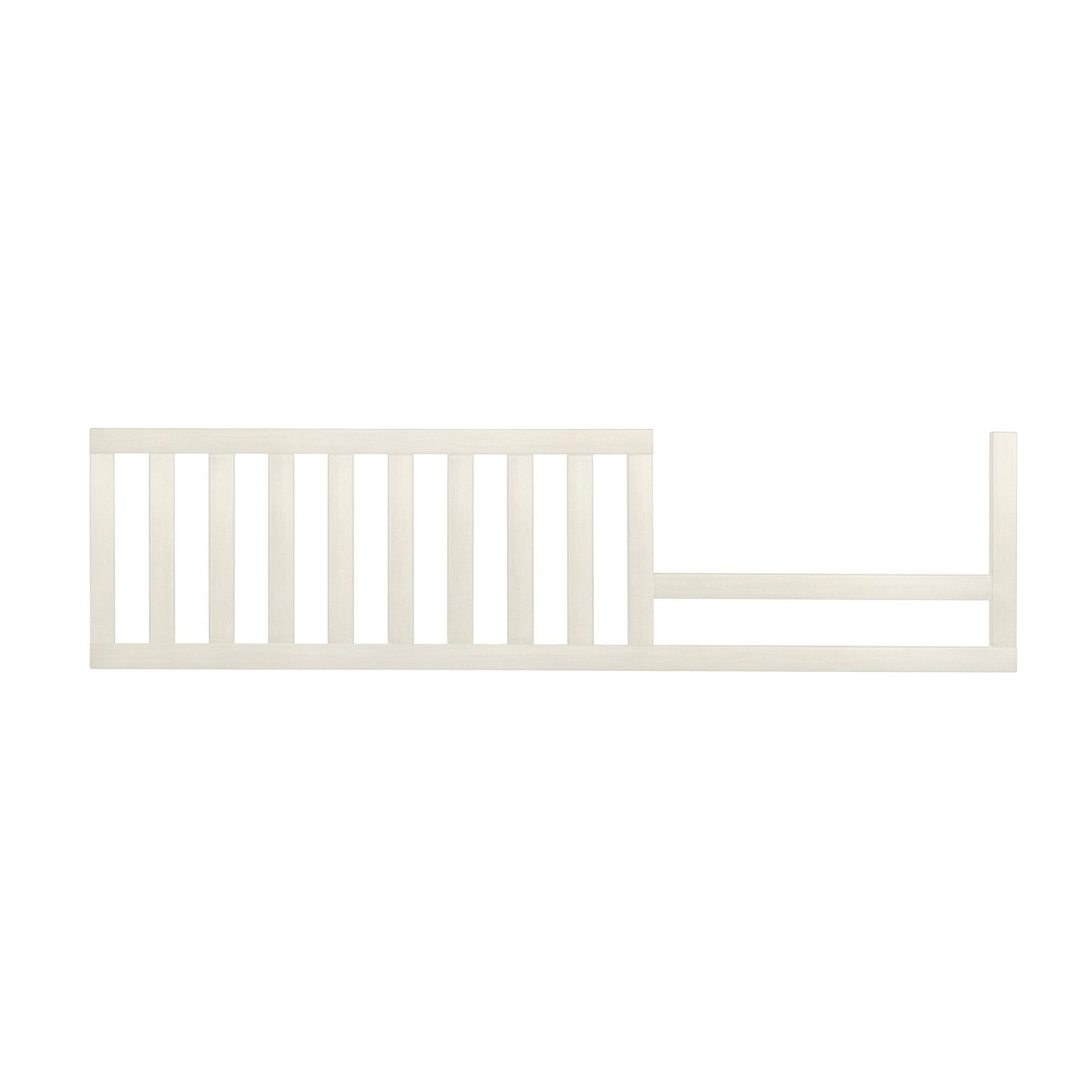 Evolur Convertible Crib Toddler Guard Rail In Antique White, 7