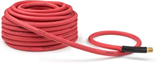 product image for TEKTON 46368 1/2-Inch I.D. by 100-Foot 250 PSI Rubber Air Hose with 1/2-Inch MPT Ends and Bend Restrictors