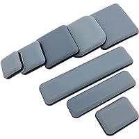Teflongglijders, zelfklevend, verschillende maten, 24 x 35 mm, PTFE glijders, meubelglijders, 4 stuks