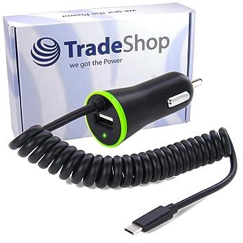 Coche Auto Cable de carga rápida Cargador USB 3.1 tipo C 2,1 ...