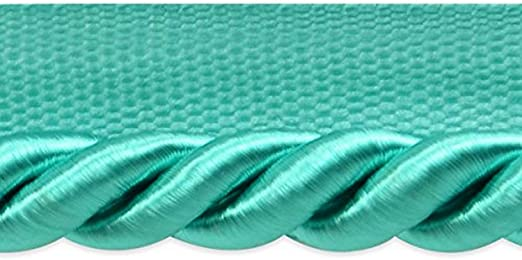 Seafoam Expo International 20-Yard Hilda Twisted Lip Cord Trim Embellishment 3//8-Inch