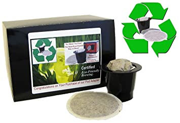 ecofriendly podcup adapter for use with our soft coffee pods and keurig - Keurig Coffee Pods